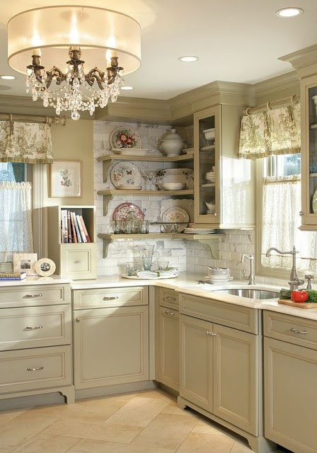 Professional photos published of Olive Green Kitchen  Eclectic  new york  by Marlene