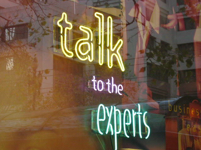 talk to the experts