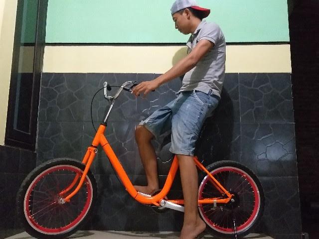 Sepeda Mini Phoenix Jadul Modif Sepedapul