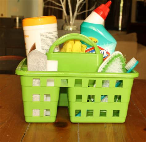 bloggaboutit bathroom cleaning caddy