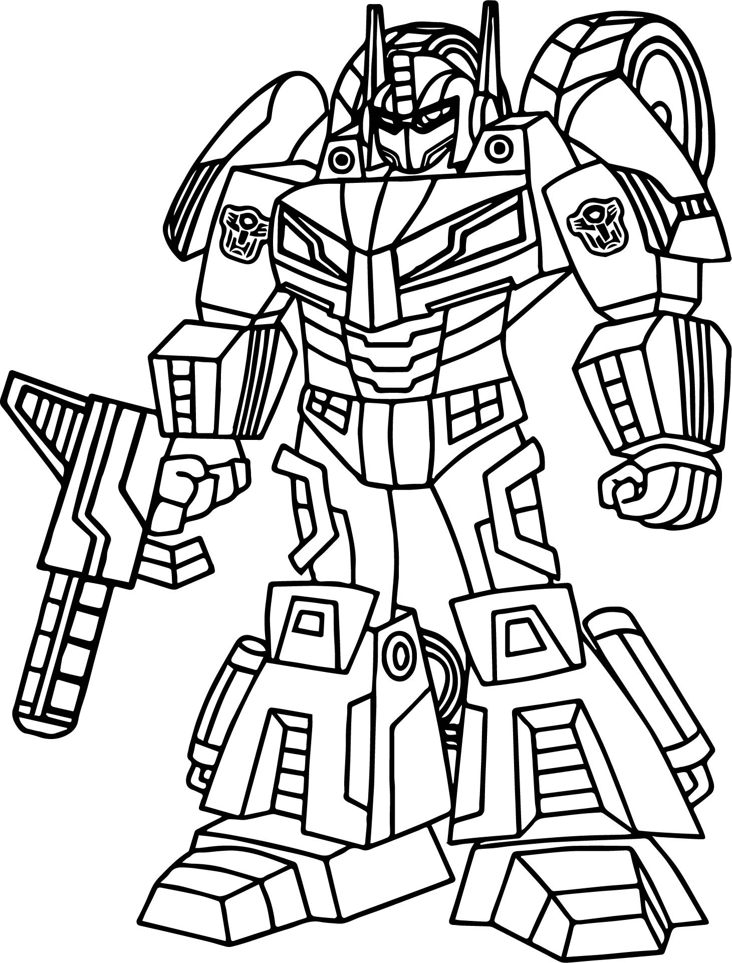 Transformers Drawing at GetDrawings | Free download