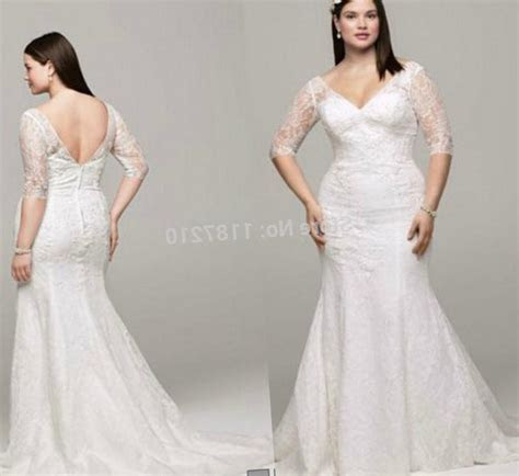 Plus size dresses cheap with sleeves   PlusLook.eu Collection