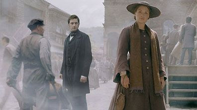 North & South - the 2004 BBC adaptation of Elizabeth Gaskell's romantic Victorian novel featuring John Thorton (Richard Armitage) and Margaret Hale (Daniela Denby-Ashe)