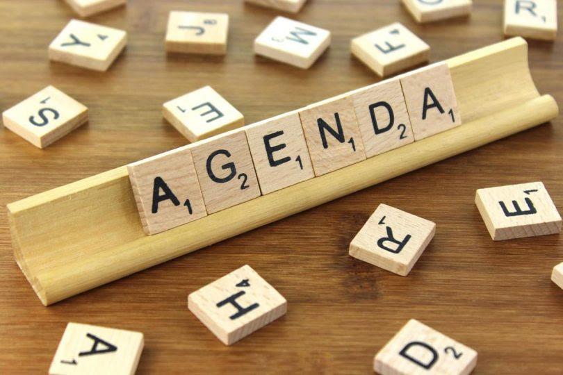 Image result for agenda