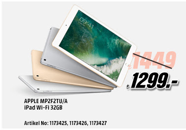 APPLE MP2F2TU/A iPad Wi-Fi 32GB 1299TL