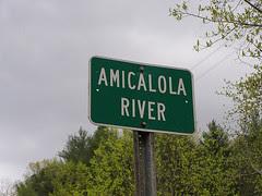 amicalola river