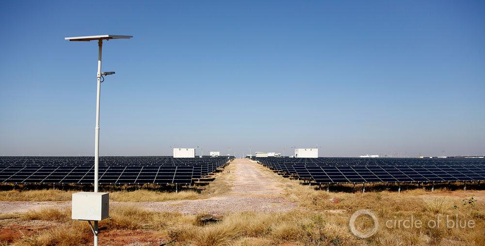 , a construit une centrale solaire photovoltaïque de cinq mégawatts et de 20 millions de dollars