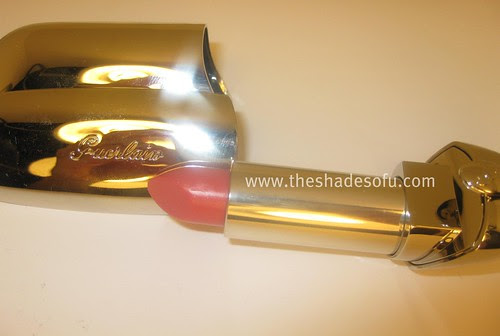 af77994b698 Guerlain Rouge G Le Brillant Lipstick Look and Review - The Shades Of U