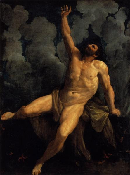 Hercules on the Pyre - Reni Guido