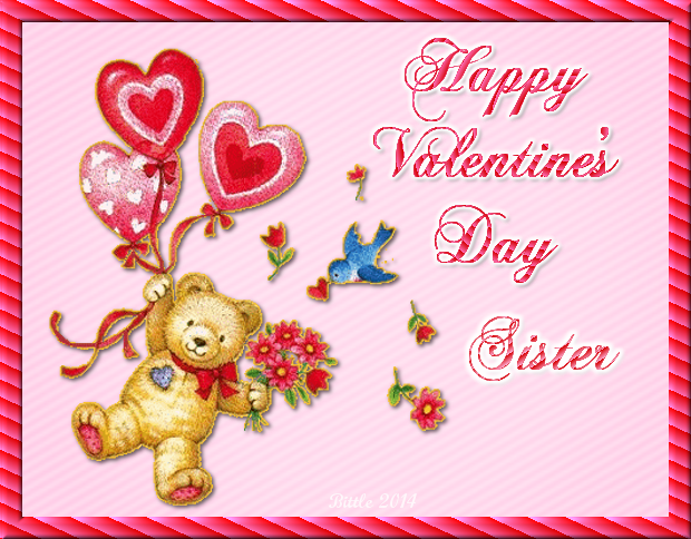 Happy Valentines Day Sister Bear Quote Pictures Photos And Images