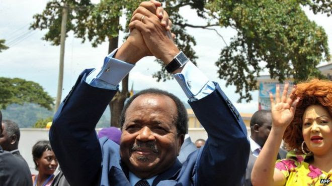 Image result for images of Cameroon's Presidential couple