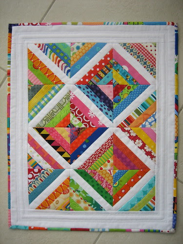 DQS9 Simple String Angel Quilt