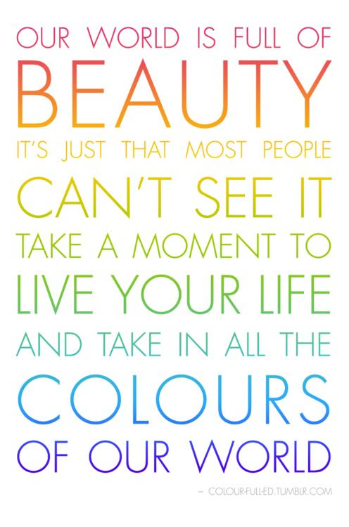 Quotes About Color And Life 88 Quotes