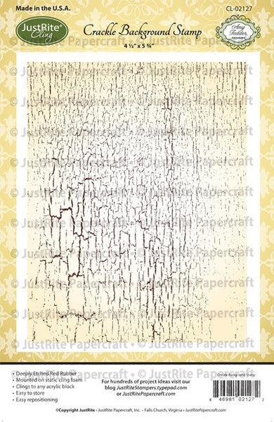 Crackle Cling Background Stamp