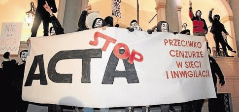 stop acta, españa se adhiere ACTA, anti counterfeiting trade agreement, acuerdo comercial antifalsificacion