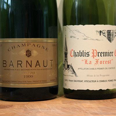 Barnaut Millésime 1999 and Dauvissat Chablis Premier Cru 'La Forest' 2004