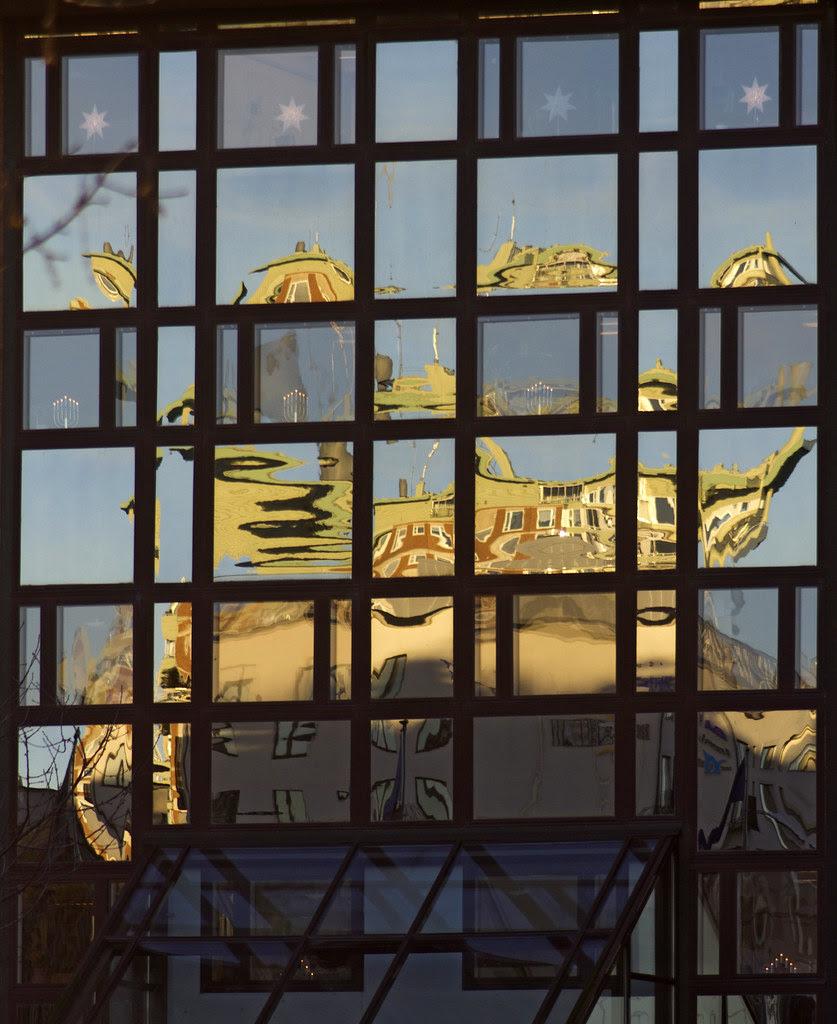 City Hall Window Reflection