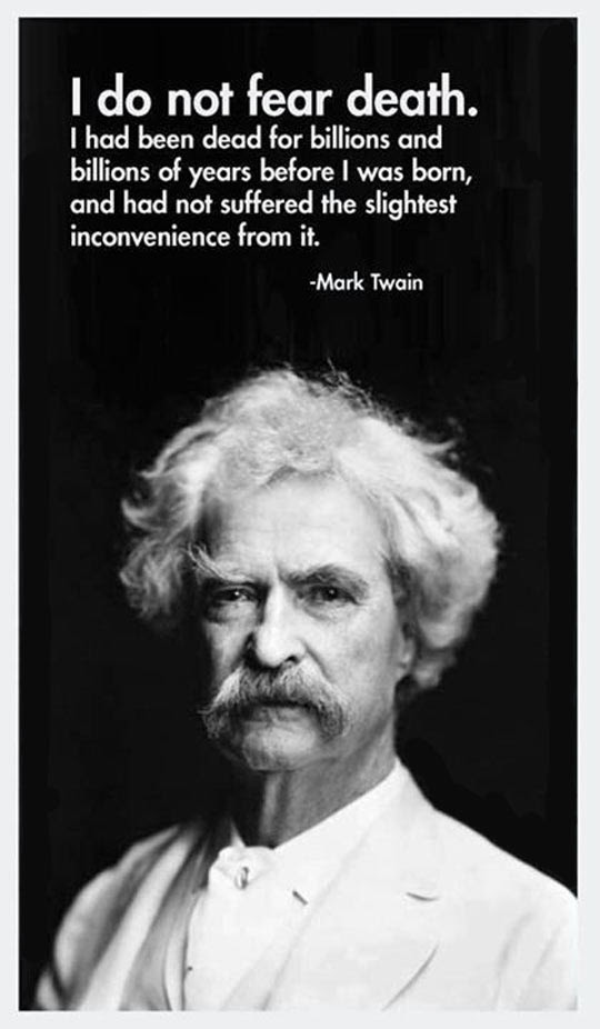 Mark Twain Quotes On Fear. QuotesGram