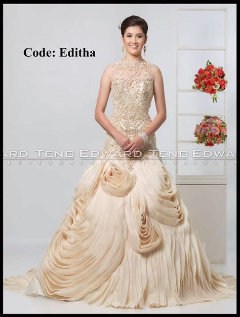 17 Best images about philippines wedding gown designer on