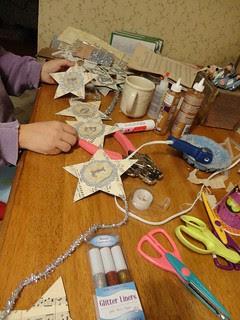 first craft.. garlands