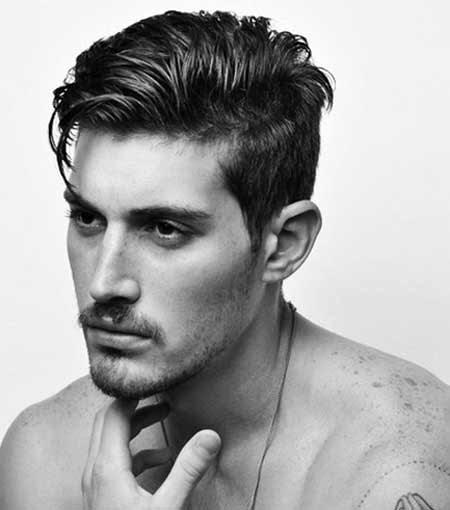 Frisuren Für Männer Mit Dicken Haaren