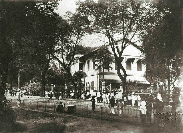 Saigon vers 1930 - Ecole Marc Ferrando, à Gia Dinh