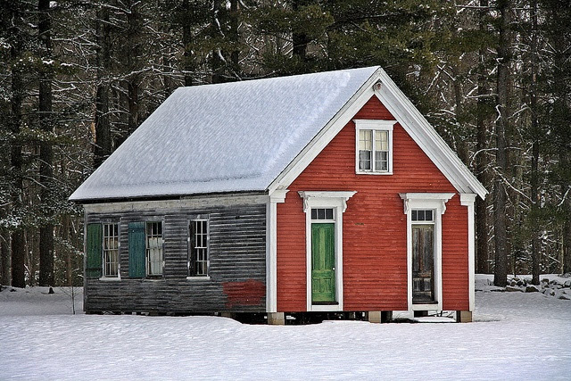 Wisconsin One Room Schoolhouse | one room school house spotted this one room school house near the ...