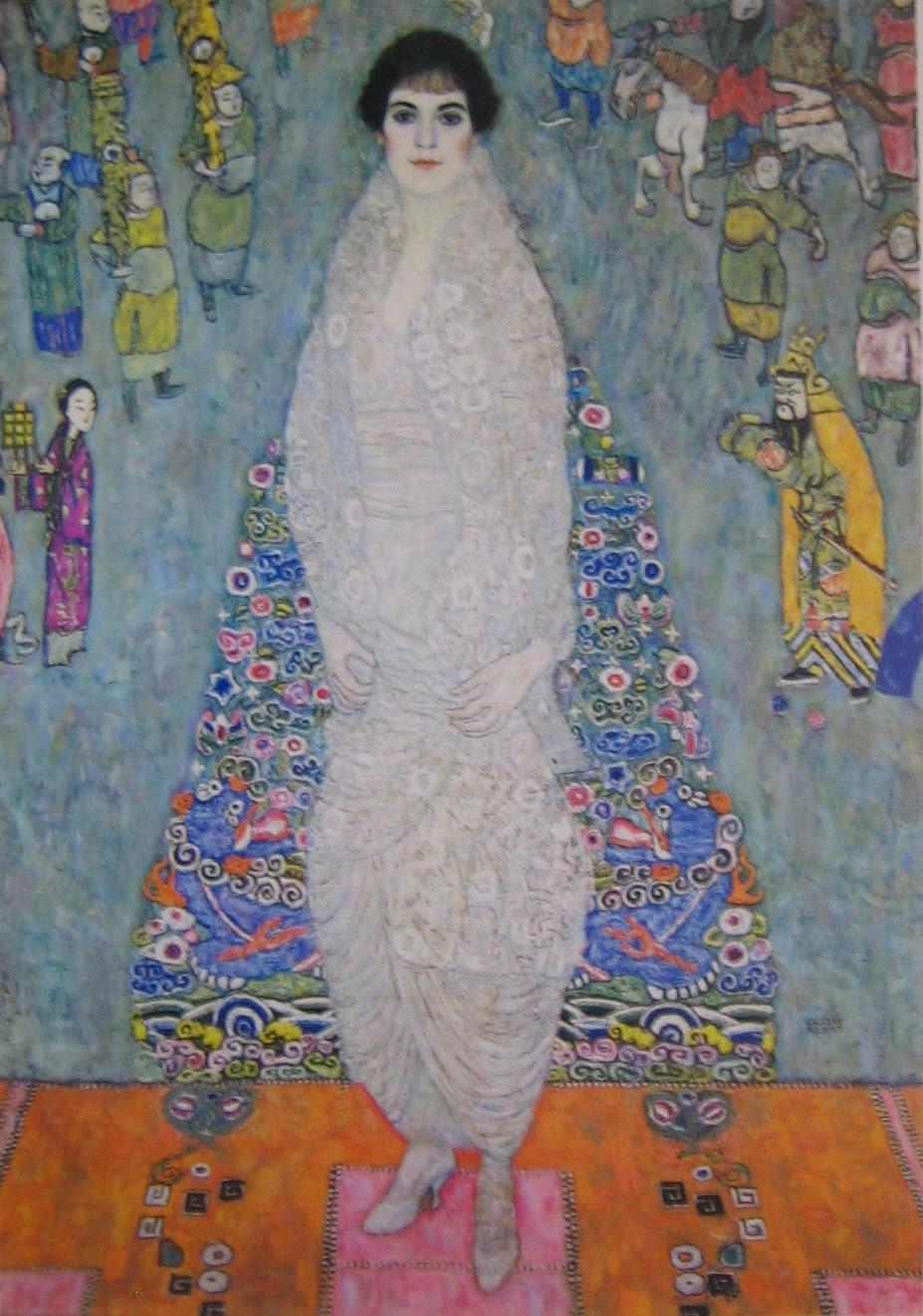 Bildnes Baronin Elisabeth Bachofen-Echt (Portrait of Baroness Elisabeth Bachofen-Echt), Gustav Klimt, c. 1914