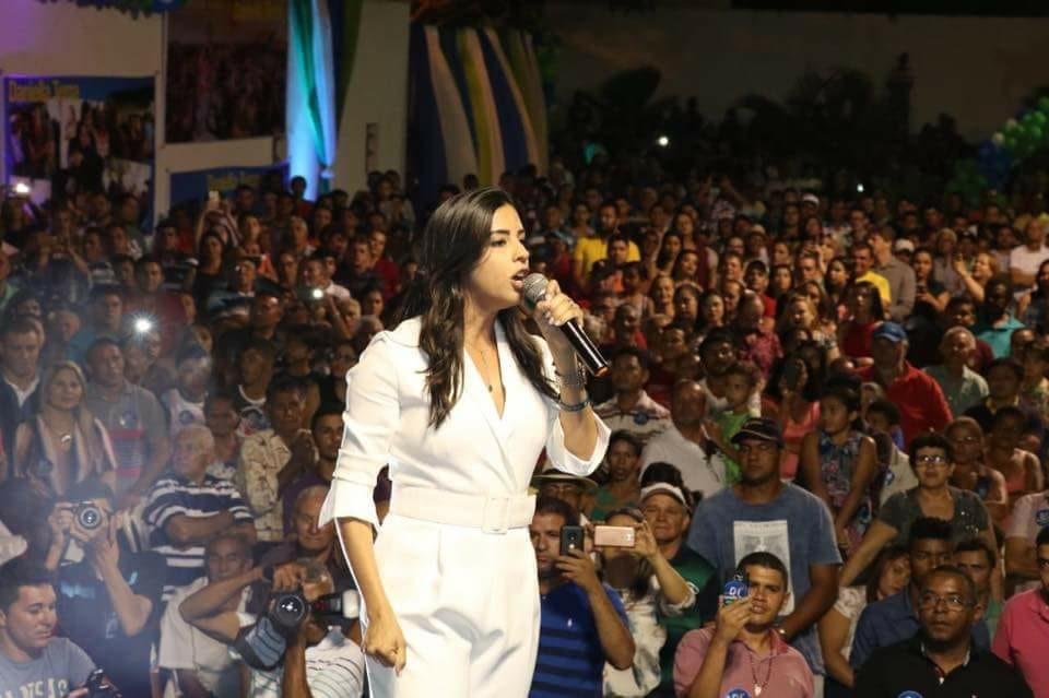 Daniella Tema agradece o apoio e carinho do povo do Maranhão