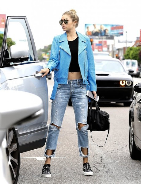 Joe Jonas & Gigi Hadid Out And About In West Hollywood