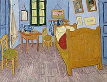 Van Gogh, The Artist's Bedroom at Arles, 1889