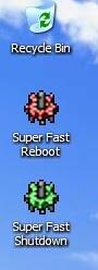 Arrêtez et redémarrez XP comme l'éclair avec Super Fast Shutdown