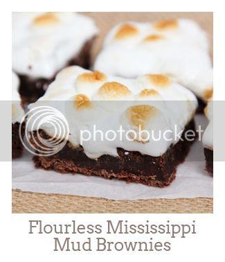 """Flourless Mississippi Mud Brownies"""
