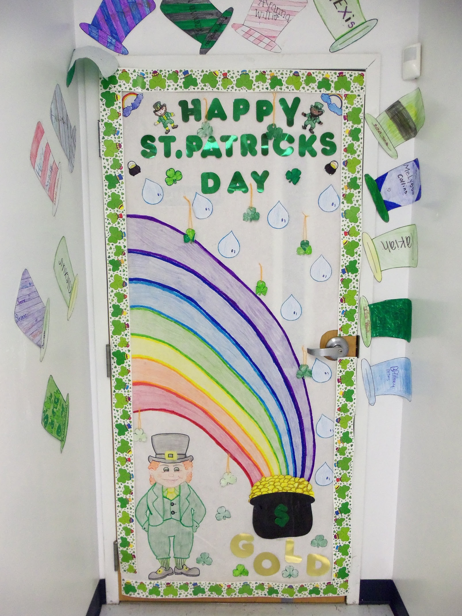 Girls Inc Of Dothan Blog Archive St Patricks Day Door