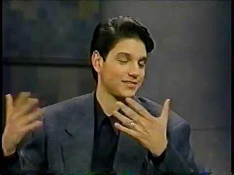 Ralph Machio @ The David Letterman Show 1990   YouTube
