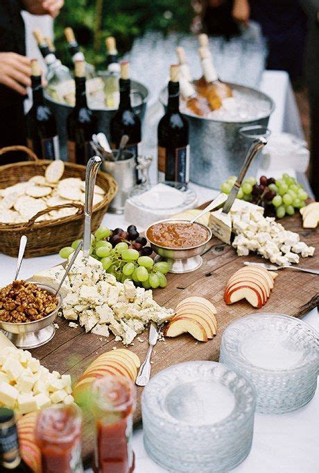 Food Bar Ideas for Your Wedding   Food stations
