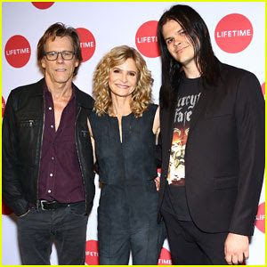 Kevin Bacon & Kyra Sedgwick Get Support From Son Travis At 'Story Of A Girl' NYC Screening!