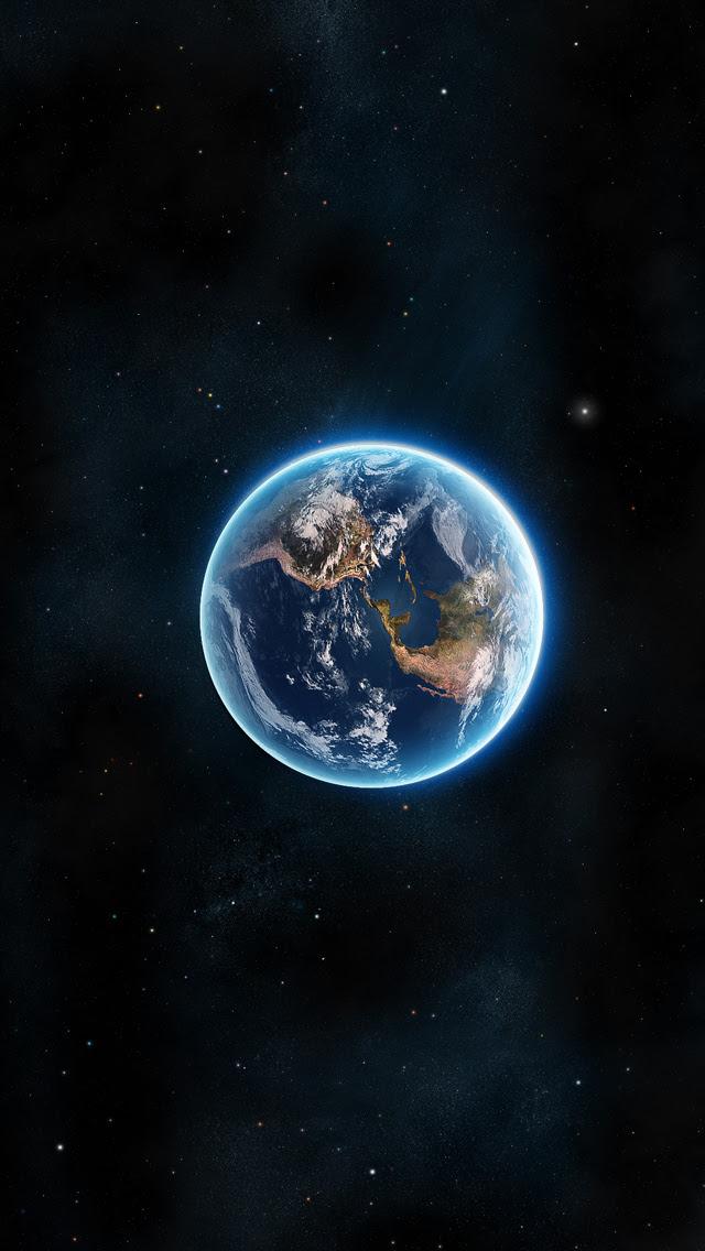Original iPhone Earth Wallpaper - WallpaperSafari