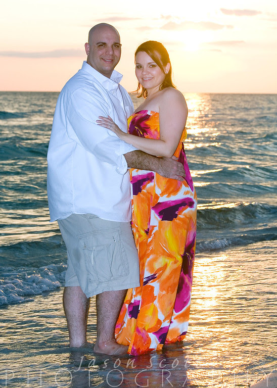 Adam and Lisa on Longboat Key, July2011            Order Enlargements  16x20 $100.00   16x20 w/frame $200.00   20x30 $200.00   20x30 w/frame $350.00   24x36 $300.00   24x36 w/frame $500.00