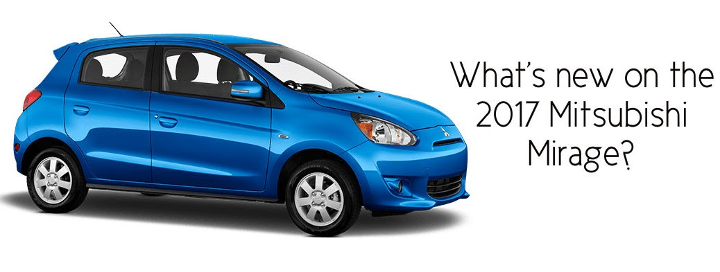2017 Mitsubishi Mirage Redesign Information Release Date Price And