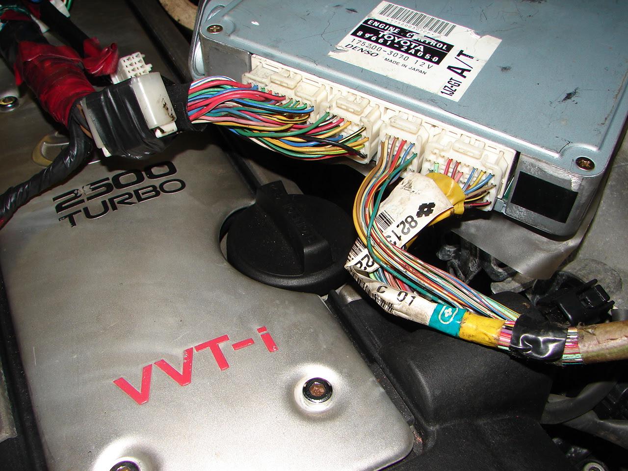 1jz Gte Vvti Need Ecu Pinout Pics Inside Toyota Jzx100 Discussion Jzx World Forums