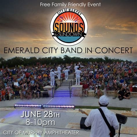 City of Murphy's Sounds at Sundown Concert Series with