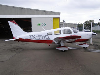 ZK-FHQ, Piper PA28-181 Archer at Wellington Aero Club