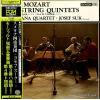 SMETANA QUARTET - mozart; string quintets no.3 & no.4