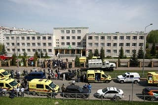 At Least Eight People Died In A School Shooting In Russia