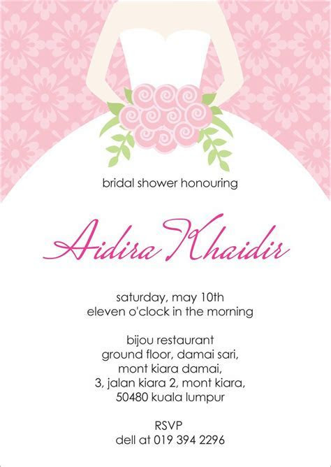 Bridal Shower Invitations : Bridal shower invitation