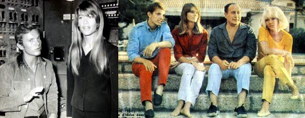 Frank Alamo - Françoise Hardy - Tino Rossi - Sylvie Vartan