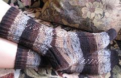 Lichen and Moss Socks