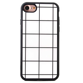 BUY For iPhone 7 7plus 6S 6plus SE 5S 5 iPhone Case Cover White Square Pattern TPU Material LIMITED