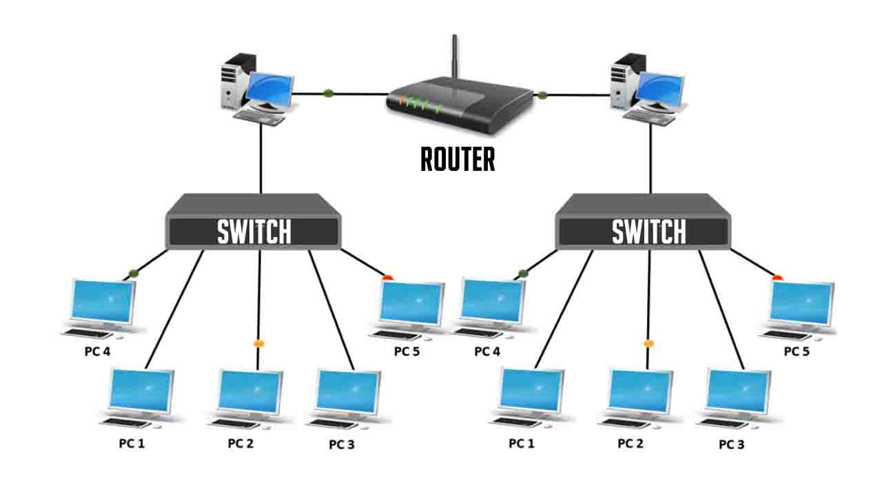 switch and router